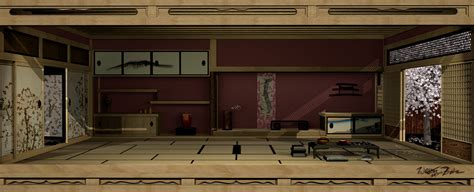 shirley art home design japan japanese interior 3d by bahr3dcg on deviantart