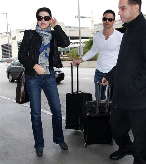 dominique sanda vita privata julianna margulies and keith lieberthal arriving for a