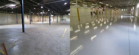Concrete Floor Epoxy Contractors in PA, NJ & DE   Shot