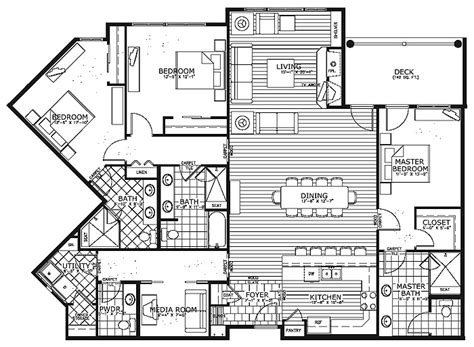 Condo House Plans 171 Floor Plans Condominium House Plans