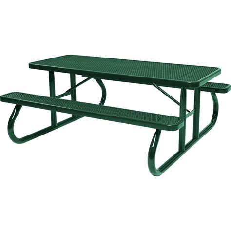 commercial picnic table lifetime 6 ft folding picnic table with benches 22119