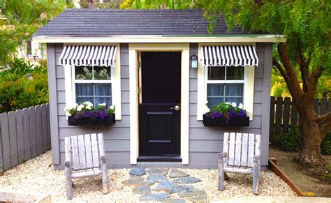 Shingle Style Cottages custom wood sheds outdoor storage buildings garden sheds