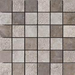 Metal Backsplash Tiles For Kitchens auberge textured 12x12 2x2 limestone mosaics modern