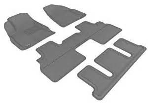 Rubber Floor Mats Buick Enclave Maxpider Gray Rubber Floor Mats Set 4