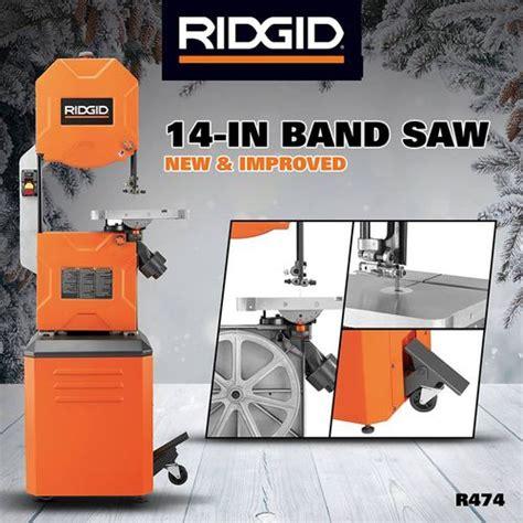 ridgid 14 in bandsaw r474 the home depot new ridgid 14 quot bandsaw by kdc68 lumberjocks com