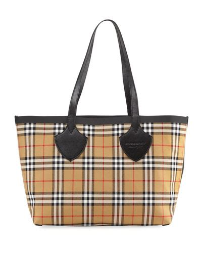 Burberrys Signature Pattern Checks Out And Win 100 To Spend At River Island The Best Stories From Shiny Media by Burberry Reversible Canvas Check Medium Tote Bag In Multi