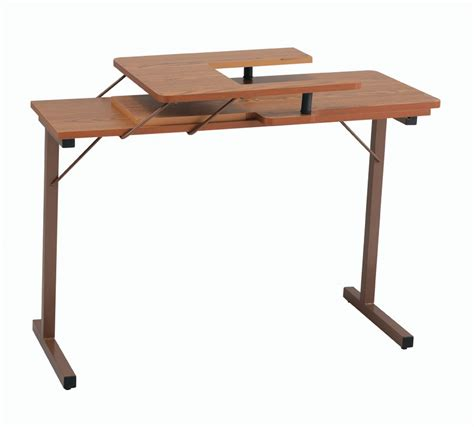 Folding Sewing Machine Table Inspira Folding Sewing Table Oak