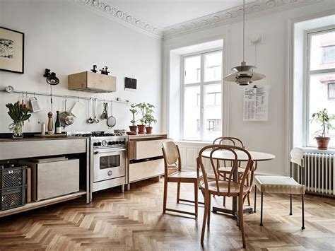 swedish kitchen this look smart storage in a swedish kitchen remodelista