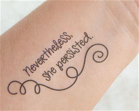 feminist tattoo etsy temporary tattoos pinterest