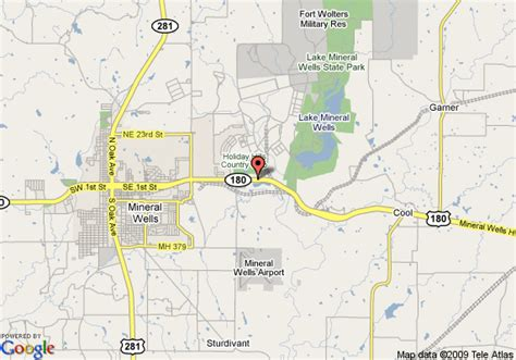 map weatherford texas map of inn express hotel suites mineral weatherford
