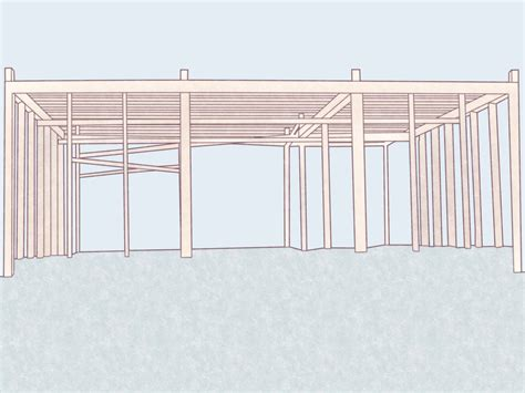 a frame building how to build a modified post and beam frame with pictures