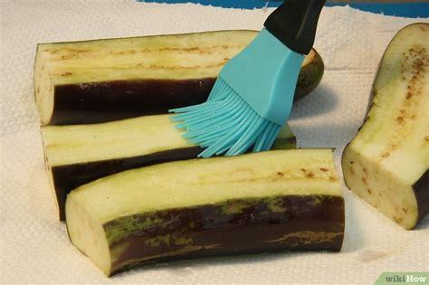 modi di cucinare le melanzane 5 modi per cucinare le melanzane wikihow