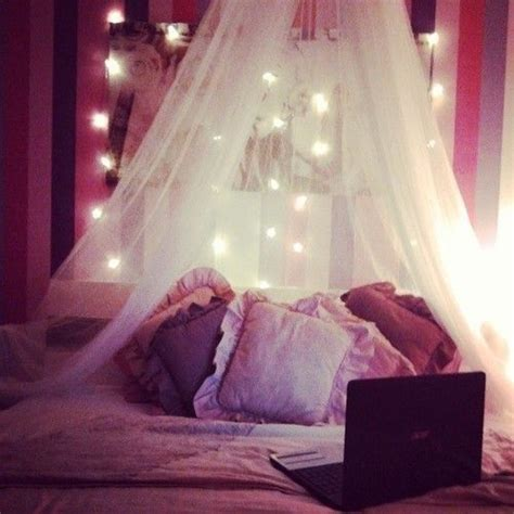cute bedroom lights canopy inspiration easy diy for more cute room decor