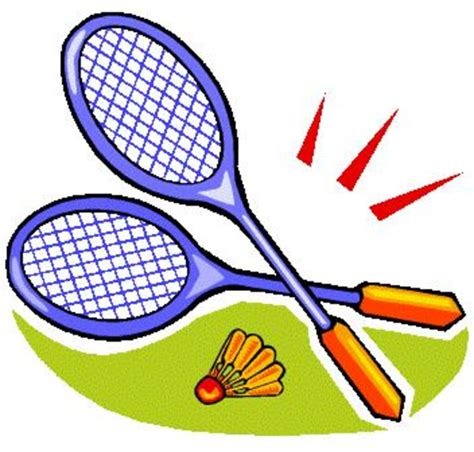 clipart badminton badminton free images at clker vector clip