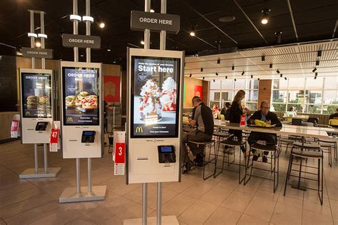mcdonalds   future  table service  touch