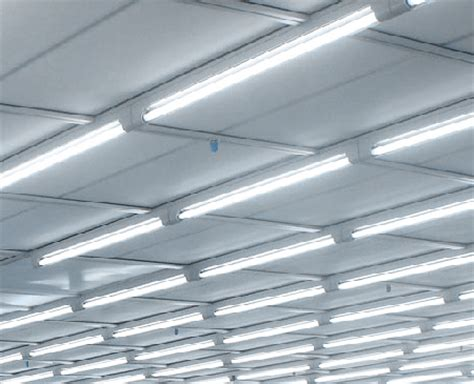 Clean Room Lighting Fixtures T5 Fluorescent Lighting Fixture