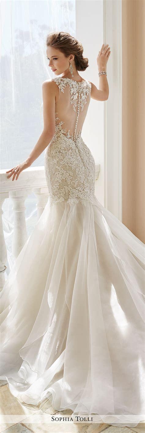 Trumpet Gown by Y21672 Aprilia Tolli Wedding Dress