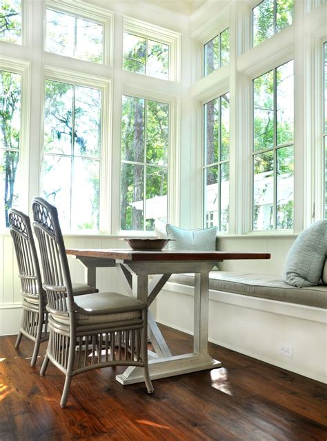 eat  kitchen bench seat full windows bench seating