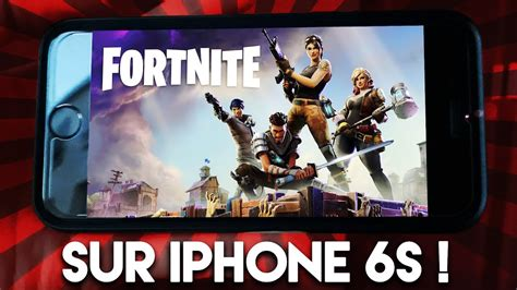 fortnite sur iphone  mon experience youtube