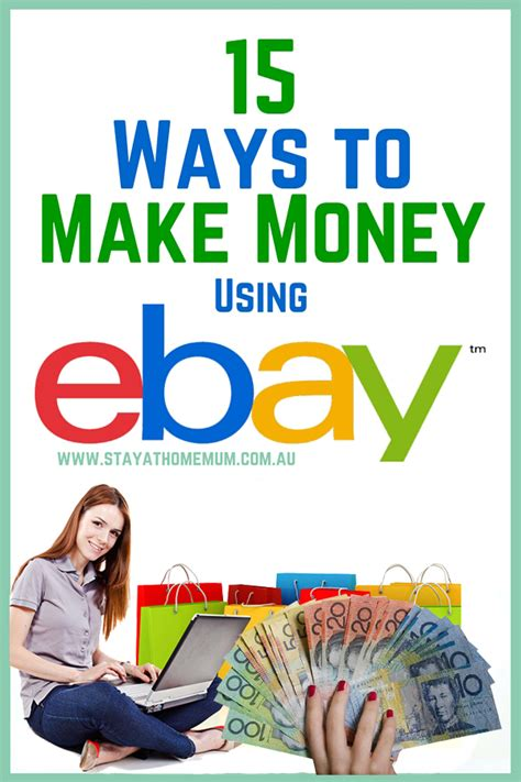 Crazy Ways To Make Money Online - 15 ways to make money using ebay stay at home mum