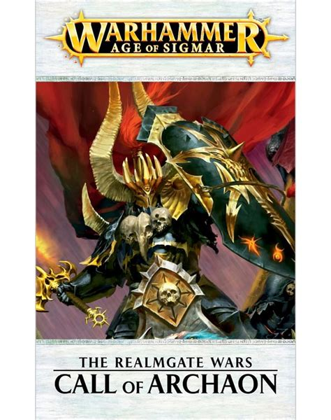 vire wars warhammer chronicles books black library the realmgate wars call of archaon