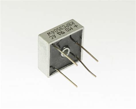 harga diode bridge 35a 400v 10x kbpc3504w 35a 400v diode bridge rectifier single phase silicon wire leads ebay