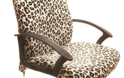 Leopard Office Chair - cool custom office chair cover called the leopard