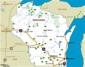 Wi State Parks Map by Wisconsin State Parks Map Car Tuning
