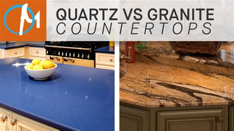Granite Vs Quartz Countertop by Quartz Vs Granite Countertops Marble