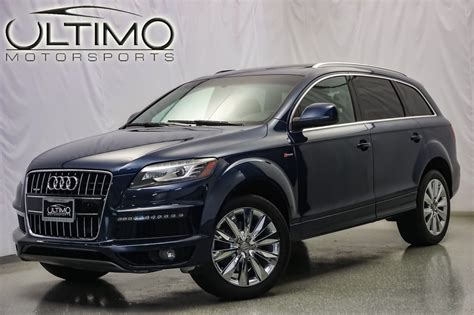 pre owned 2011 audi q7 3 0t s line suv near hinsdale