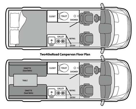 Sprinter Van Conversion Floor Plans by Best 25 Sprinter Camper Ideas Only On Pinterest Camper