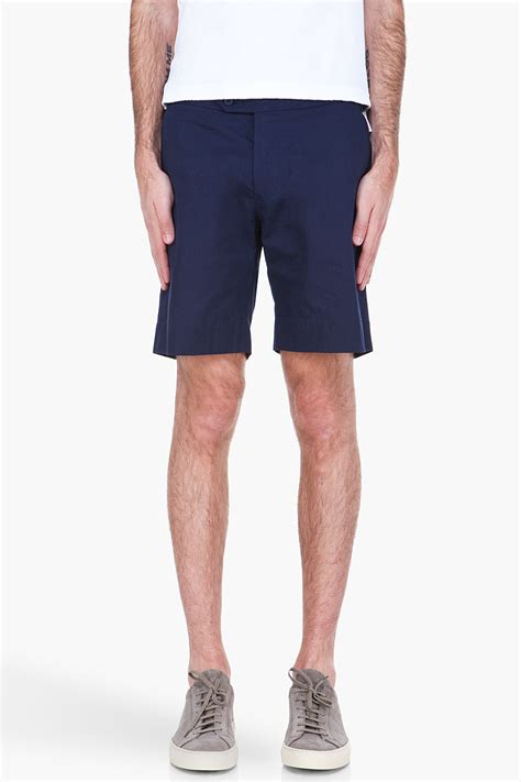 Balman Shirt By Ayn orlebar brown navy norwich shorts