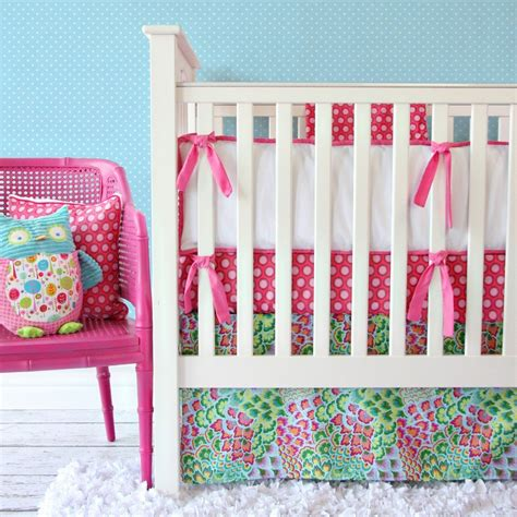 Blue And Pink Crib Bedding Pink And Blue Crib Bedding For Caden