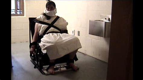 how to tie someone to a bed ashley smith being tied to special prostraint chair youtube