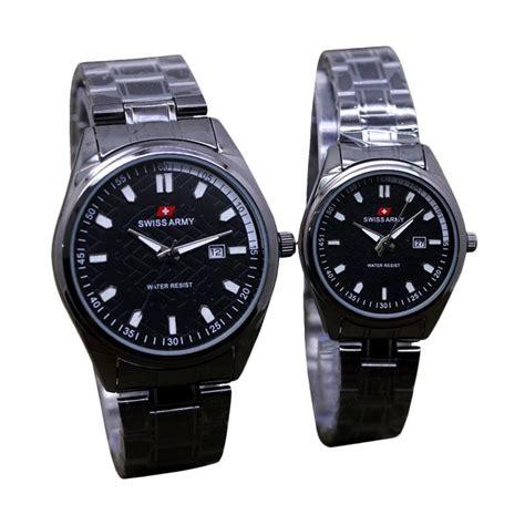 Jam Tangan Pasangan Jam Tangan Murah Swiss Army 5 jual swiss army edition d45h160sa7538mlhtm date jam tangan pasangan harga