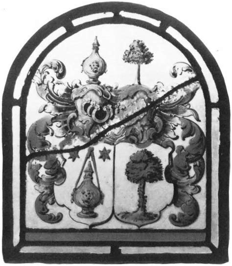 heraldic panel with arms corpus vitrearum usa