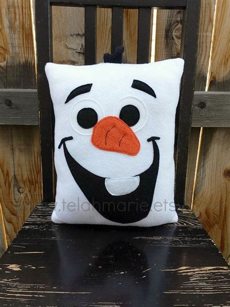 Olaf Pillow by Olaf Frozen Pillow Plush Cushion By Telahmarie On Etsy