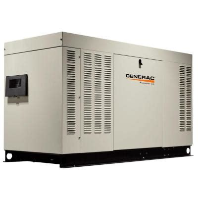 generac 48 000 watt liquid cooled standby generator with