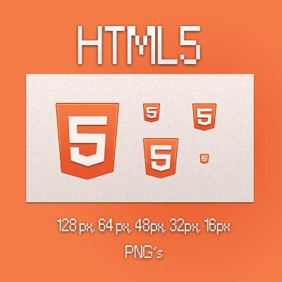 Html5 Artist html5 icons by kuvaly on deviantart