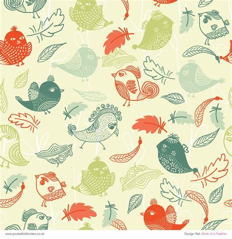 Patterned Craft Paper Uk - patterned paper birds of a feather