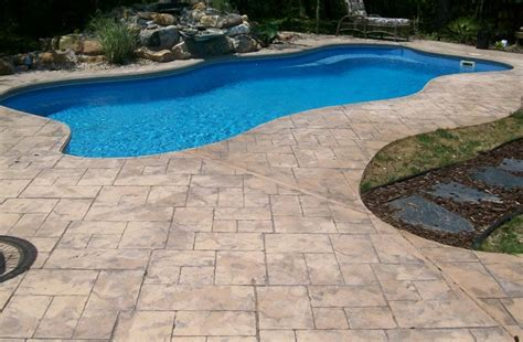 pool deck materials guide quiet corner