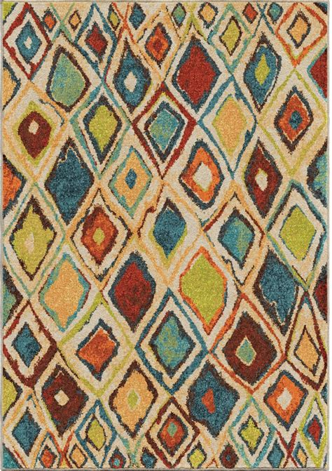 bright colored rugs orian rugs bright color geometric nabalis multi area