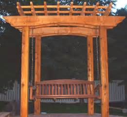 Swing Pergola Plans by Woodwork Pergola Plans With Swing Pdf Plans