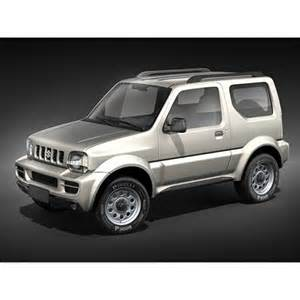 Suzuki Jimny SUV 3D Model CGriver