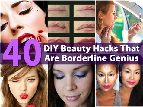 diy hack 40 diy beauty hacks that are borderline genius diy crafts