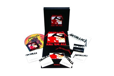 Cd Original Metallica Hardwired To Self Destruct Import metallica kill em all remastered limited numbered