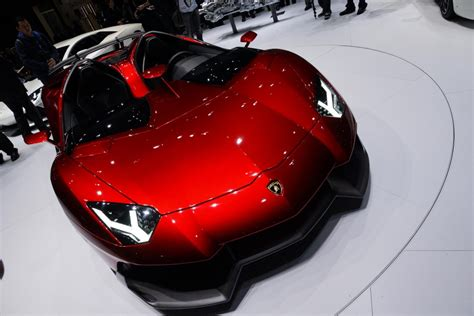 Aventador Lights by Newmotoring Lamborghini Aventador J Geneva 2012 Lights