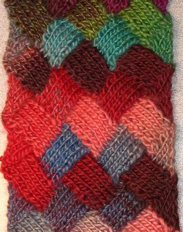 knitting patterns scarf tutorial easy entrelac scarf tutorial allfreeknitting com