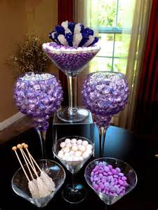 chic amp modern candy centerpieces candy amp sweet decor rock candy arra hollywood candy girls