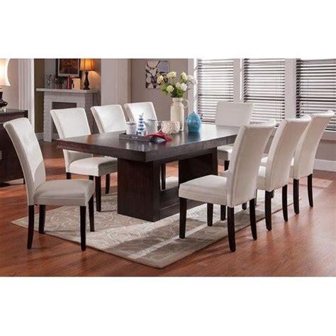 steve silver antonio 9 piece dining room set w charcoal steve silver antonio 9 piece dining set with berkley